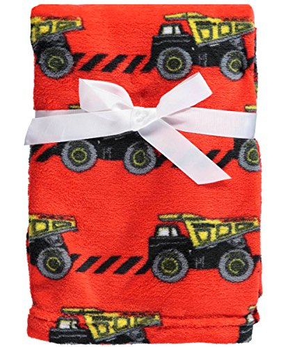 "Tonka ""Earth Movers"" Plush Blanket - red, one size"