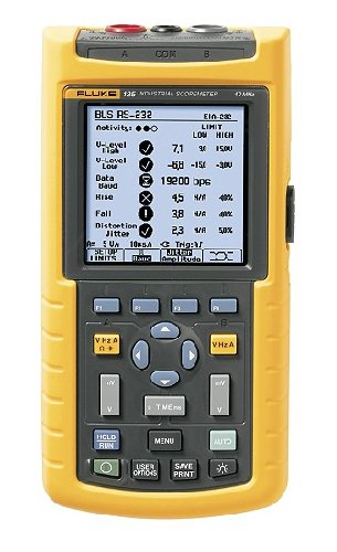 Fluke 125/S 125 S Portable Oscilloscope Scopemeter MultiMeter Meter Tester Test Equipment