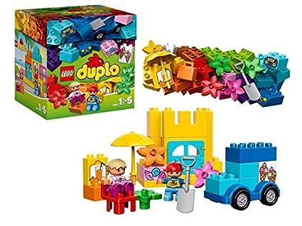 Lego® Duplo® Mes Premiers Pas - 10618 - Jeu De Construction - La Boîte De Construction Créative Lego® Duplo®