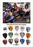 Guns N Roses Gold Gitarre Pick Plektron Display (Limited to 50)
