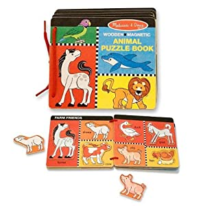 Melissa & Doug Animal Puzzle Book