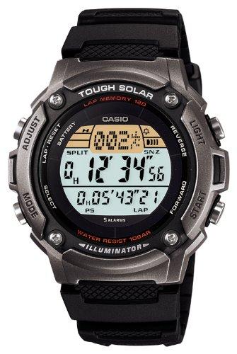 [カシオ]CASIO 腕時計 SPORTS GEAR スポーツギア ランナーズモデル タフソーラー ラップ・スプリットタイム最大120本メモリー W-S200H-1AJF メンズ