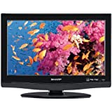 Sharp AQUOS LC22SB28UT 22-Inch 720p LCD TV, Black