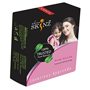 Sheer skinz Pure Gulab -125gm (Box Packing)