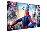 MARVEL COMICS AMAZING SPIDERMAN VS ELECTRO AND GREEN GOBLIN CANVAS WALL ART PRINTS PICTURES PRINT PICTURE ROOM DECORATION SUPERHERO PHOTOS
