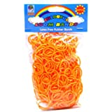 Loom Bandz - Rainbow Colours - Orange 600 Count
