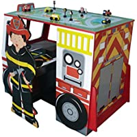Teamson TD-11154A Fire Engine Desk & Chair Set