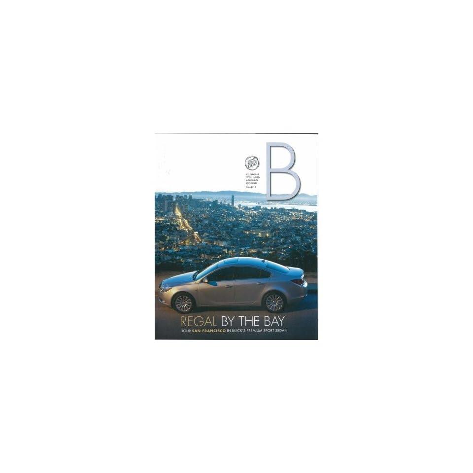 2010 Buick Regal Sales Brochure Literature Book Colors Options Specifications