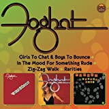 Foghat Girls To Chat & Boys To Bounce/In The Mood For Something Rude/Zig-Zag Walk/Rarities (4 Albums On 2CDs)