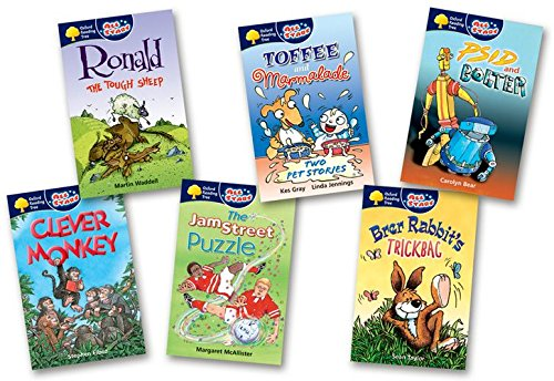 Oxford Reading Tree: All Stars: Pack 3: Pack (6 books, 1 of each title)