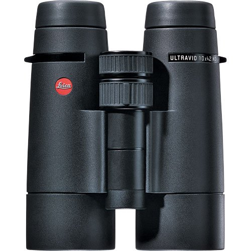Leica 10X42 Ultravid Hd, Water Proof Roof Prism Binocular With Black Rubber Armor, With 6.4 Degree Angle Of View, U.S.A.