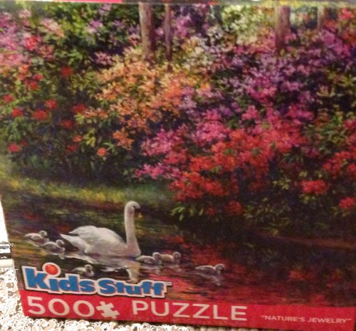 Kids Stuff Nature's Jewelry 500 Pieces Puzzle