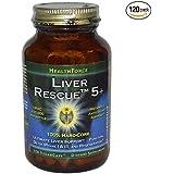 Liver RescueTM 5+ 120 Vegan Capsules