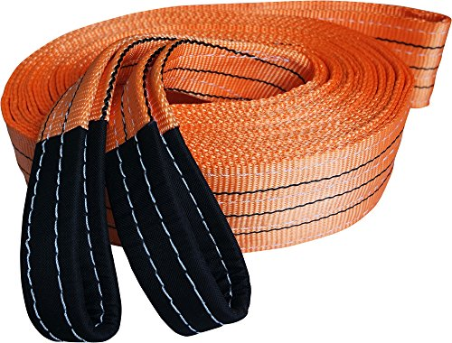 "Lowest Price! Heavy Duty Recovery Strap | For Off-Road Recovery and Towing | By Titan Auto (3.5""..."