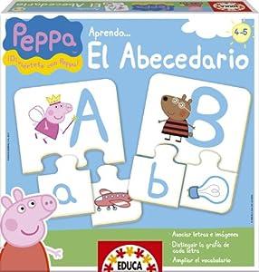 Educa-Borrás - Peppa Pig aprendo el abecedario (15652)