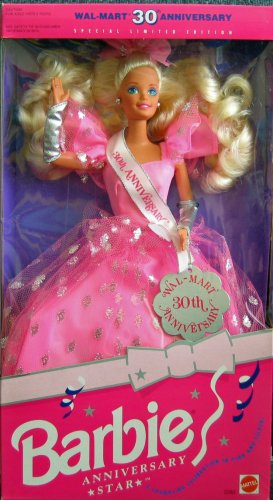 Barbie Anniversary Star Doll Wal-Mart 30th Anniversary Special Limited Edition (1992) - 1