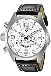 Swiss Legend Men's 10020-02 Highlander Analog Display Swiss Quartz Black Watch