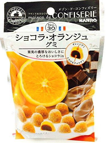 カンロ ショコラ・オランジュグミ 44g×6袋
