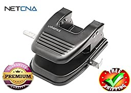 Universal hole punch- With Free NETCNA Printer Cable - By NETCNA