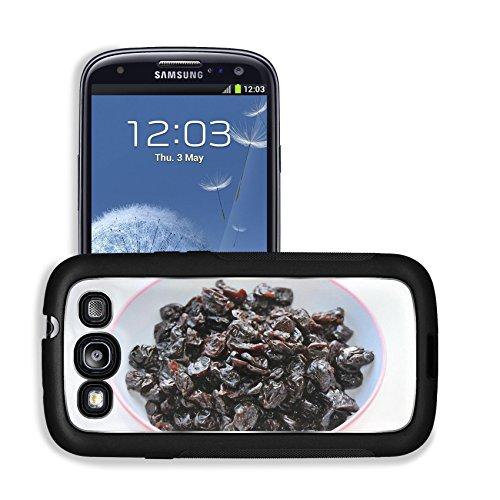 Luxlady Premium Samsung Galaxy S3 Aluminum Backplate Bumper Snap Case Cherries Cherry Fruits Dried Image 314441