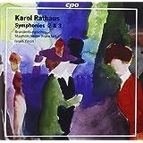 Rathaus: Symphonies 2 & 3