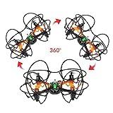 TheeFun-TX4-6-Axis-2-Speed-24GHz-RC-Quadcopter-with-Protective-CircleBlack