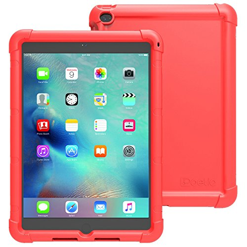 Poetic Turtle Skin Series Sound-Amplification Protective Silicone Corner/Bumper Case for Apple iPad Mini 4 - Red (Ipad Mini Protective Skin compare prices)