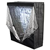 "New 100% Reflective 48"" X 24"" X 60"" Hydroponics Grow Tent Hydro Box Hut Cabinet"