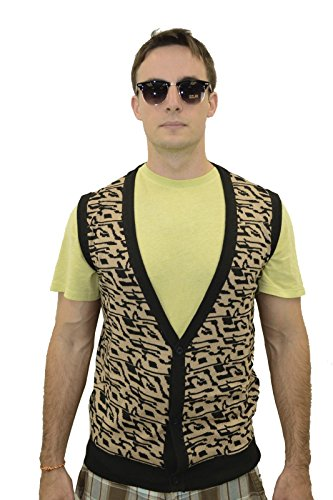 Ferris Bueller Matthew Broderick Vest Top Costume for Men.