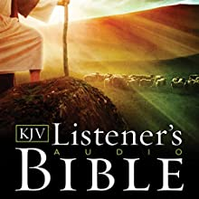 The KJV Listener's Audio Bible: Vocal Performance by Max McLean Audiobook by  King James Version Narrated by Max McLean