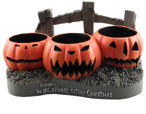 Nightmare Before Christmas Jack O' Lanterns Votive Holder