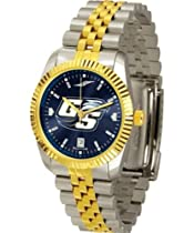 "Georgia Southern Eagles NCAA AnoChrome ""Executive"" Mens Watch"