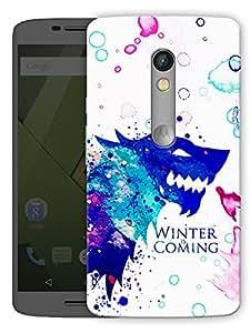 "Winter Designer Printed Designer Mobile Back Cover For ""Motorola Moto X Play"" By Humor Gang (3D, Matte Finish, Premium Quality, Protective Snap On Slim Hard Phone Case, Multi Color)"