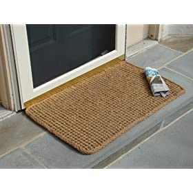 Rectangle Dragon Coco Coir Doormat