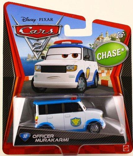 Disney Pixar Cars 2 OFFICER MURAKARMI Chase - 1