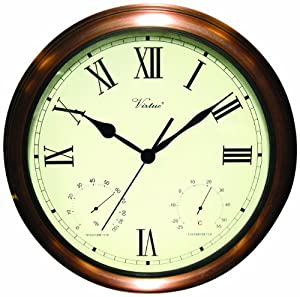 Poolmaster 52604 15 clock thermometer for Garden treasures pool clock