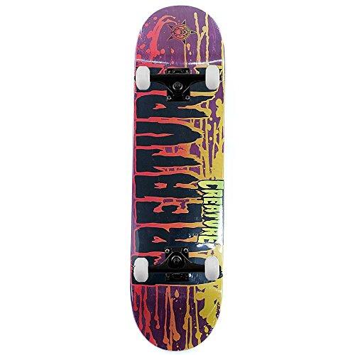 creature-skateboards-ruckseite-fleck-lila-komplett-skateboard-21-cm
