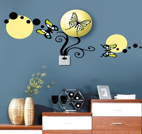 Dream Wall Decal, Butterflies