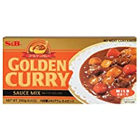 S & B Golden Curry, Mild, 8.4-Ounce Units (Pack of 10)