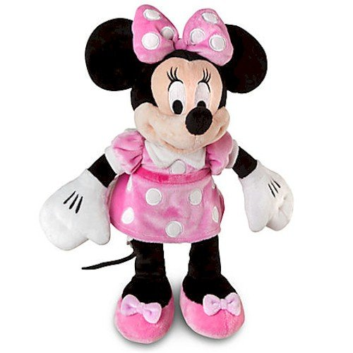 Disney Small Minnie Mouse Plush - 12'' H - Pink Dress