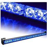 "31.5"" Emergency Warning Traffic Advisor Vehicle Strobe Light Bar - Blue"