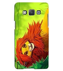 Citydreamz Lion\Jungle\Wild\Animal Hard Polycarbonate Designer Back Case Cover For Samsung Galaxy Core 2 G355H