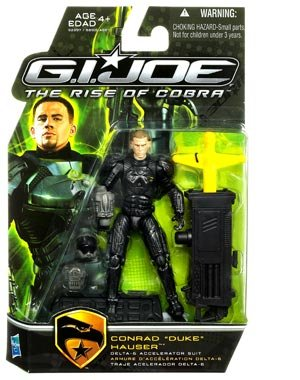 Buy Low Price Hasbro G.I. Joe Movie The Rise of Cobra 3 3/4 Inch Action Figure Duke (Delta-6 Accelerator Suit) (B002GNY68G)