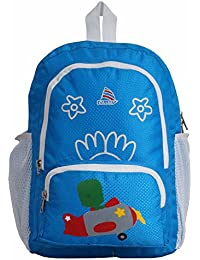 Chiku School Bag (S.Blue & White) (For Kids) - Clubb Cart