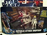Star Wars - Republic Attack Dropship with Clone Pilot - SCOUT VEHICLE
