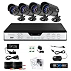 Zmodo PKD-DK4216-500GB H.264 Internet & 3G Phone Accessible 4-Channel DVR with 4 Night Vision Cameras and 500GB HD