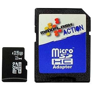 MaxFlash 52413 Micro Secure Digital High-Capacity (MicroSDHC)
