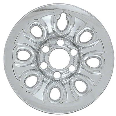 2004-2010 GMC Sierra 17 Inch Chrome Wheel Skins