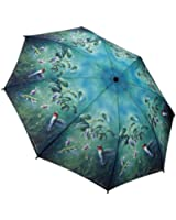 Galleria Hautman Brothers Hummingbirds Auto Super-Mini Umbrella (Hummingbirds)