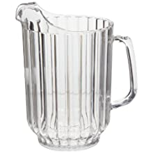 Cambro P600CW 60 oz Capacity, Camwear Clear Polycarbonate Pitcher